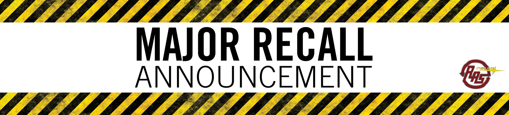 Major Recall Announcement!!